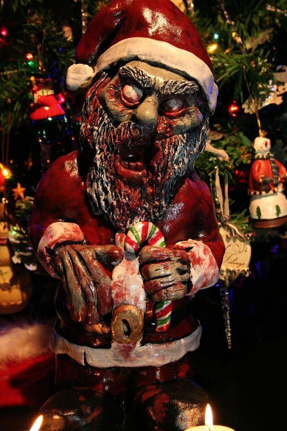 Christmas Zombie Santa.Christmas Revenantfx