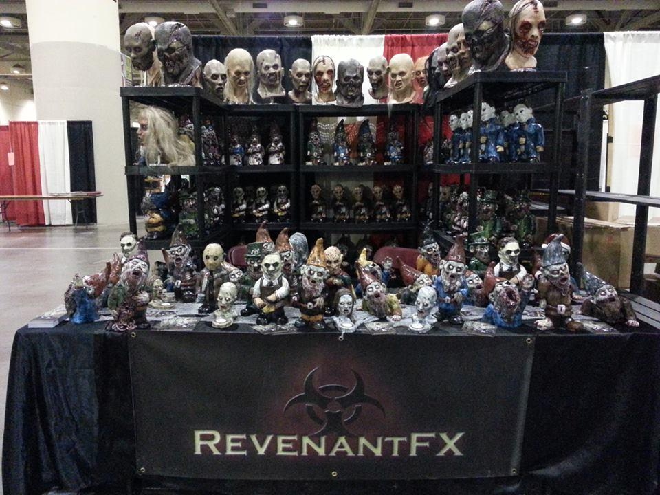 Revenantfx zombie gnomes at Toronto Fanexo 2013