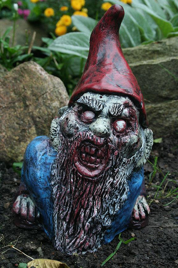 Gnome In Garden: Disemboweled Donny