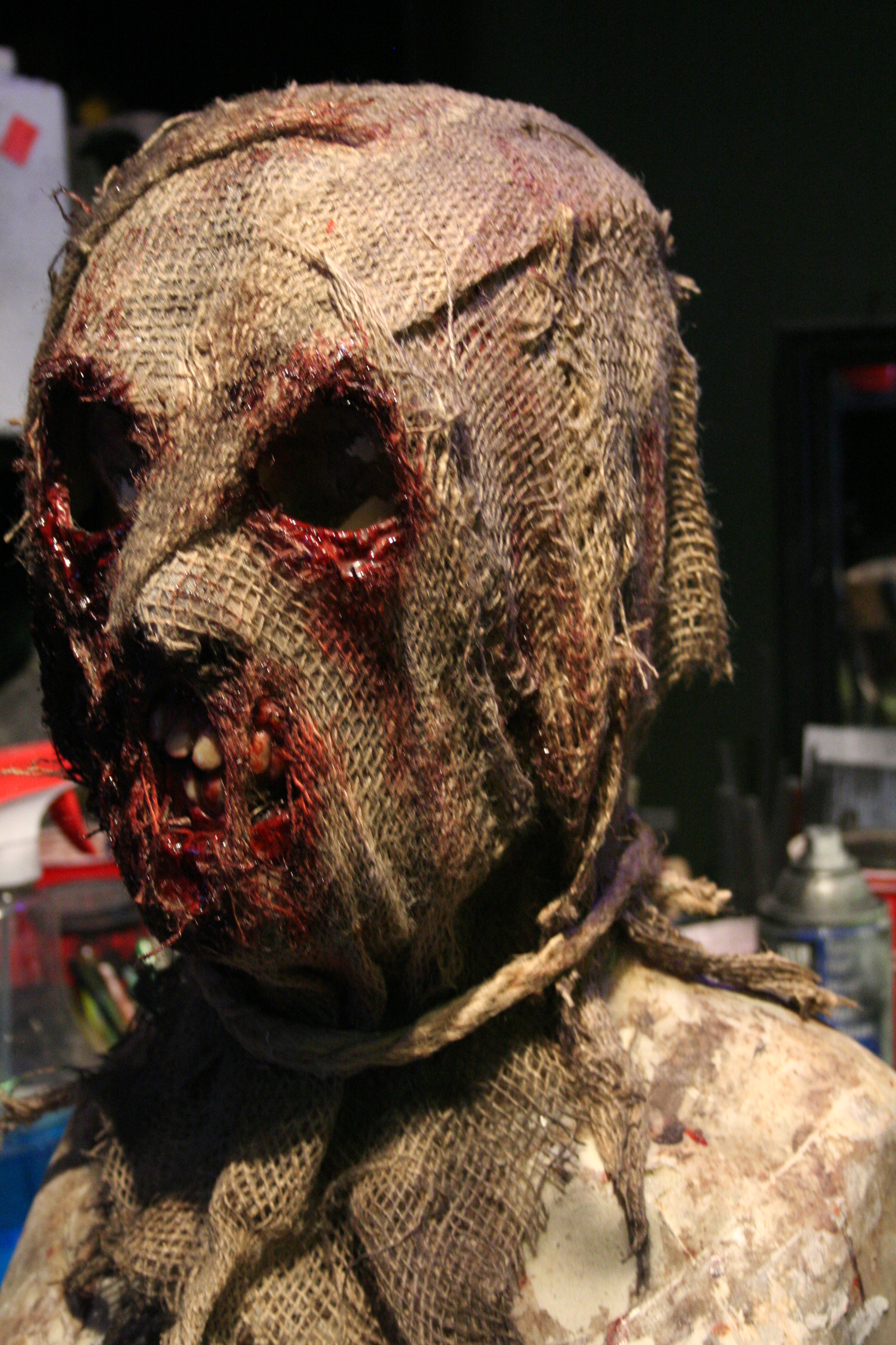 The Cornreaper Scarecrow Mask – RevenantFX
