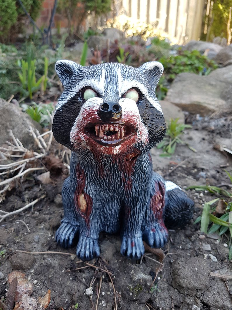 Amanda The Infected Trash Panda Revenantfx